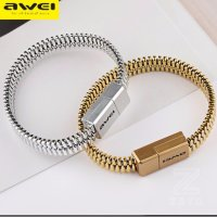 Кабель USB Awei CL-86 V8 Micro (gold) 220mm ABS оригинал