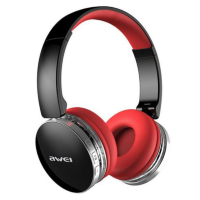 Наушники Bluetooth Awei A500BL (Black-red) оригинал