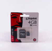Карта памяти Micro KINGSTON 4gb class10
