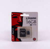 Карта памяти Micro KINGSTON 16gb class10