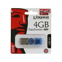 Флешка USB KINGSTON Data Traveler 101  4гб