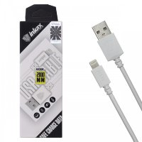 Кабель USB inkax CK-08  i6 2000mm (white)