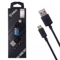 Кабель USB inkax CK-08 V8 Micro 2000mm (black)