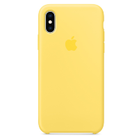 Чехол Original Silicone Case для iPhone XS Max Canary Yellow