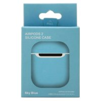 Чехол Silicone Case Airpods 2 лазурный