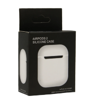 Чехол Silicone Case Airpods 2 белый