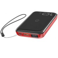 Внешний АКБ Baseus PPXFF10W-19 10000 mAh black+red